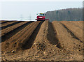TA0118 : Preparing Potato Beds near Turton's Covert : Week 12
