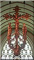 TL4502 : St John the Baptist, Epping - Hanging rood by John Salmon