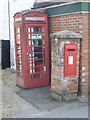 SZ3398 : Pilley: postbox № SO41 102 by Chris Downer