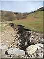NY9100 : Stabilising erosion, West Arn Gill by Christine Johnstone