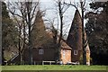 TQ5751 : Oast house at Marchurst, Hildenborough Road, Shipbourne by Oast House Archive