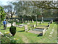 TQ4700 : St Andrew's Church, Bishopstone- churchyard (3) by Basher Eyre