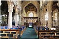 SK8632 : Interior, St Andrew's church, Denton by J.Hannan-Briggs
