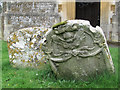 SP9019 : Late 18th century gravestones at St Mary the Virgin, Mentmore by Chris Reynolds