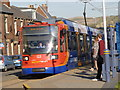 SK3289 : Sheffield Supertram arriving at Malin Bridge by Alan Murray-Rust