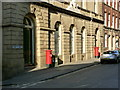 SK3587 : County Court Hall with postboxes by Alan Murray-Rust