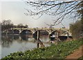 TQ1775 : Richmond Lock by Paul Gillett