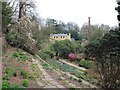 SJ8383 : Formal gardens at Quarry Bank Mill by David P Howard
