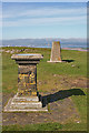 NS9874 : Toposcope and Trigpoint by Anne Burgess