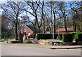SO9975 : War Memorial, Horse Trough & Parish Hall by Roy Hughes
