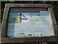 TL0619 : Information Board, Little Green Pond by Rob Farrow