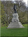 SJ8189 : Wythenshawe Park, Oliver Cromwell Statue by David Dixon