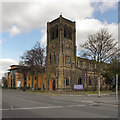 SJ8391 : Christ Church, West Didsbury by David Dixon