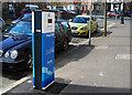 J3373 : 'E-Car' charge point, Belfast by Rossographer