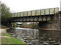 SK3888 : Bridges over the canal at Attercliffe by Stephen Craven