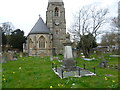 TQ1171 : St George's Churchyard, Hanworth by Ian Yarham