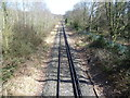 TQ4468 : Single track line near Little Thrift by Ian Yarham