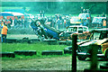 TL6922 : White House Farm banger racing, 1980 by Robin Webster