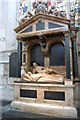 ST7564 : Tomb of Jane Waller, Bath Abbey by Julian P Guffogg