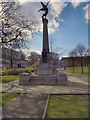 SK3387 : Weston Park War Memorial by David Dixon