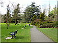 Dist:0.1km<br/>This is adjacent to Nonsuch Park, but in London (Borough of Sutton) rather than Surrey.