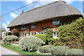 TQ5005 : Thatched house, The Village, Alciston by Julian P Guffogg
