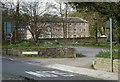 SK2956 : Part of the Cromford Mill complex from a car park entrance by Andrew Hill