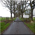 NH5446 : Private road to Easter Lovat by Craig Wallace