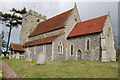 TQ4407 : St Andrew's church, Beddingham by Julian P Guffogg