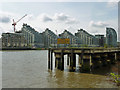 TQ2675 : Thames bank redevelopment by Robin Webster