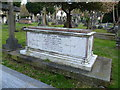 TQ3565 : Tomb of the parents of John Ruskin in St John the Evangelist Churchyard by Ian Yarham