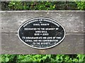 Photo of Black plaque number 42693