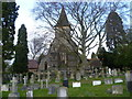 TQ3565 : St John the Evangelist Churchyard, Shirley by Ian Yarham