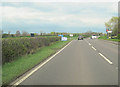 SJ5550 : Cholmondeley Cross roads A49 North by John Firth