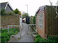 SZ9099 : Path from Hewart's Lane to Lower Bognor Road by Peter Holmes