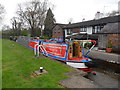 SJ5345 : Working Narrow Boat Hadar passing through Willeymoor lock. by Keith Lodge