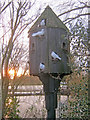 SK9267 : Dovecote at Whisby Garden Centre by Trevor Rickard