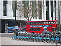 TQ3178 : London cycle hire by Oast House Archive