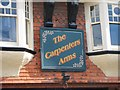 TR1457 : The Carpenters Arms sign by Oast House Archive