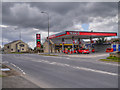 SD7730 : Griffin Head Service Station, Burnley Road by David Dixon