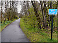 NN5200 : Cycletrack to Gartmore by David Dixon