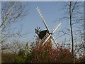 SU9494 : Windmill at Coleshill village, Buckinghamshire by Peter S