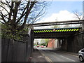 SJ7055 : Two rail bridges over Mill Street, Crewe by Ian S