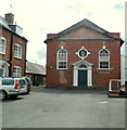 SO4958 : Grade II listed Leominster Baptist Church by John Grayson