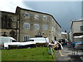SY2998 : Old carpet factory, Silver Street, Axminster. by Chris Allen
