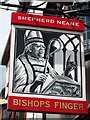 TR1458 : Bishops Finger sign by Oast House Archive