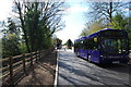 SU5704 : Fareham to Gosport BRT - On the new busway (12) by Barry Shimmon