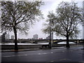 TQ2777 : Battersea Bridge from Chelsea by PAUL FARMER