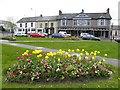 H2684 : Floral display, The Diamond, Castlederg by Kenneth  Allen