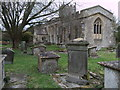 SU0091 : Keene monuments, St.Leonard's Church, Upper Minety by Vieve Forward